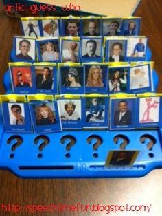Speech Time Fun: Articulation Guess Who!