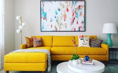 Small Apartment Living, Cozy Living Rooms, Small Apartments, Living Spaces, 2 Piece Sectional Sofa, Modern Sectional, Leather Sectional, Couches, Wall Nook