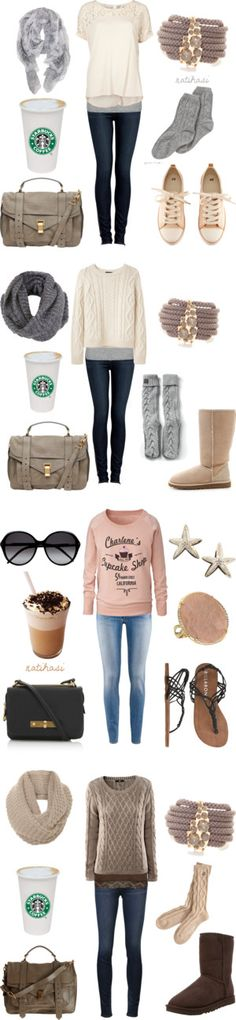 """""""Time for a coffee Outfits"""" by natihasi on Polyvore"""