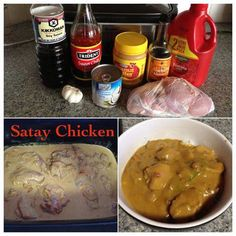can add carrots, peas and onions Chicken Sausage Rolls, Chicken Subs, Chicken Satay, Slow Cooker Recipes, Crockpot Recipes, Cooking Recipes, Meal Recipes, Sweet Chilli Sauce, Sweet Chili