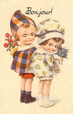 **FREE ViNTaGE DiGiTaL STaMPS**: Free Vintage Printable - Sweet Children