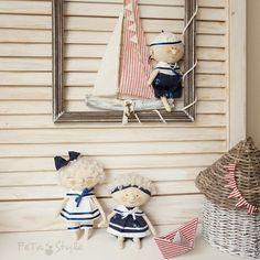 Купить Рамка большая с Корабликом Декор для детской Морской стиль - рамка для детской, рамка для декора