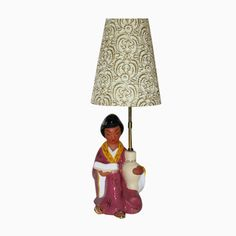 Viennese Table Lamp with a Chinese Woman from Carli Bauer, for Shop with global insured delivery at Pamono. Austria, Recycled Furniture, Mid Century Design, China, Recycling, Table Lamp, Home Decor, Women, Products
