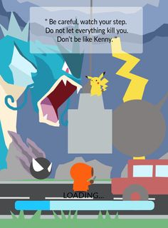 """torivic: """"If South Park won't make episode about Pokemon GO, Have this one. """""""