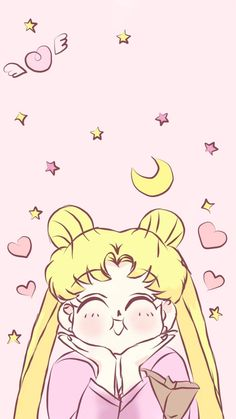 Sailor Moon Tumblr, Arte Sailor Moon, Sailor Moon Usagi, Wallpapers Sailor Moon, Sailor Moon Wallpaper, Cute Disney Wallpaper, Kawaii Wallpaper, Cute Wallpaper Backgrounds, Cute Wallpapers