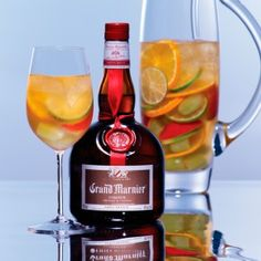 White Sangria with Grand Marnier #recipe