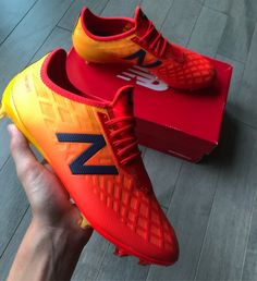 d30ada057 The  nbfootball Furon 4.0s latest colorway is so vibrant and the boots   Amazing