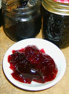 Wine Jelly-Use a hearty red Cabernet/Merlot for good flavor.