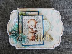 HOBBYKUNST: Baby Dream Big, Frame, Cards, Baby, Decor, Creative, Dekoration, Decoration, Frames