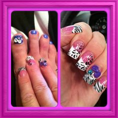 3-D Toes and Nails