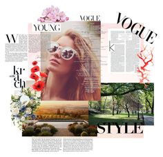 """Vougue Style young"" by allisjess ❤ liked on Polyvore featuring art"