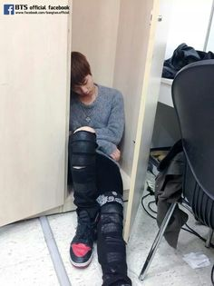 Jin sleeping // why do they remind me of cats /sobs4ever