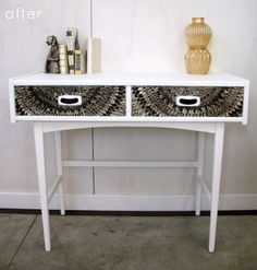 Before & After: Side Table Transformation