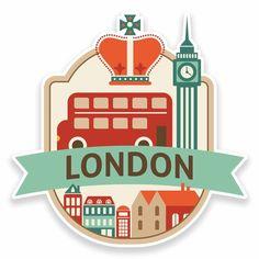 2 x London UK England Vinyl Sticker Laptop Car Travel Luggage Tag - Lenora Salazar Best Travel Luggage, Car Travel, Travel Hacks, Laptop Stickers, Cute Stickers, Picture Blog, Laptop Computers, Illustration Art, Photoshop
