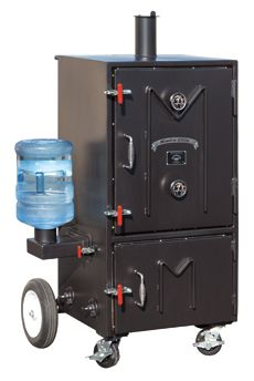 Meadow Creek BBQ: BX 50 Barbecue Smoker **Possible upgrade down the road. Build A Smoker, Bbq Pit Smoker, Water Smoker, Barbecue Pit, Bbq Grill, Bbq Smoker Trailer, Drum Smoker, Bbq Equipment, Brewing Equipment