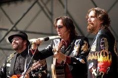 """Blackie & the Rodeo Kings...""""O yeah, another day's through, and I'm still lovin' you."""""""
