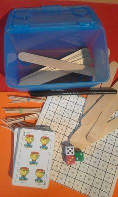 Etxerako jardueren kutxa elikatzen (II) » matematiketan.eus  homework box Homework Box, Homework Chart