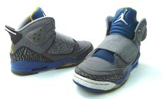 new product 9093a cb07a Nike Air Jordan Son of Mars GS Shadow Blue Stealth 512246 037 Youth Size 6Y
