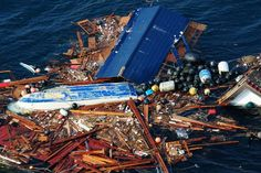 U.S. Bound: Japanese Tsunami Junk Carries Invasive Species As much as 1.5 million tons of debris is floating in the world's oceans in the wake of last year's tragedy.
