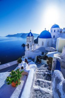 "Santorini Greece Travel Beautiful Places Take a Holiday's Tour to Beautiful Villages of Santorini Island Greece Santorini Greece Travel Beautiful Places. Santorini, officially known as ""… The Places Youll Go, Cool Places To Visit, Places To Go, Vacation Places, Dream Vacations, Vacation Spots, Santorini Island Greece, Oia Santorini, Santorini Beaches"