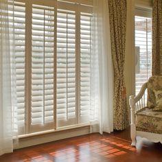 Interior Window Shutters, Vinyl Shutters, Window Coverings, Window Treatments, Custom Wood, Blinds, Windows, Curtains, Ramen