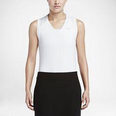 21d7c8918874e Nike Women s Greens Sleeveless Top Dri-Fit technology Stretch Feminine