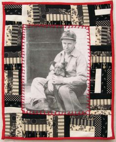 photo quilt. Would love one with gpa's pic!