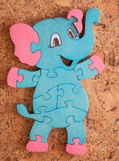 Wooden puzzle for kids. Wooden animals, wooden toys, Family gift for family, wooden souvenir. Diy Christmas Gifts For Family, Diy Holiday Gifts, Christmas Decor, Handmade Wooden Toys, Wooden Diy, Playroom Organisation, Scroll Saw Patterns Free, Wooden Elephant, Woodworking Patterns