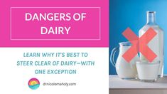 Learn why dairy can be problematic for health, and which dairy foods are exceptions to the rule. No Dairy Recipes, Healthy Lifestyle, Health Fitness, Healthy Eating, Personal Care, Foods, Learning, Tips, Eating Healthy