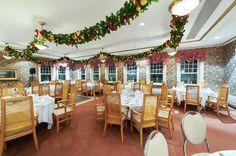 Salle de réception pour party de Noël au Parc de la Chute-Montmorency