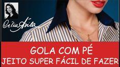 JEITO FÁCIL DE FAZER MOLDE DE GOLA COM PE - COM CÉLIA ÁVILA