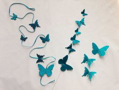 74 best Butterfly Decorations images on Pinterest   Butterfly     glitter shinning butterfly decoration ideas  for home decoration  for  weddings  for parties