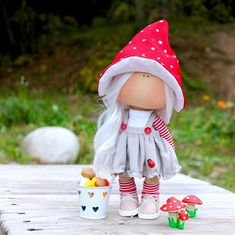 Knitted Dolls, Crochet Dolls, Baby Friends, Baby Girl Toys, Eco Friendly Toys, Travel Toys, Fabric Toys, Dress Up Dolls, Cat Doll