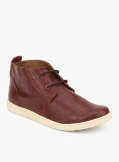 9ee25f5ae Buy Knotty Derby Justin Chukka Maroon Boots Online - 5027699 - Jabong