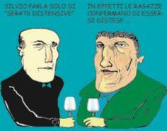 16/1/2011. Le feste bunga bunga a casa di Berlusconi erano solo serate distensive.
