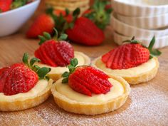 Francouzské recepty Archivy - Strana 2 z 2 - Avec Plaisir Mini Desserts, Cheesecake, Food And Drink, Cupcakes, Treats, Sweet, Digital Camera, Olympus, Advent