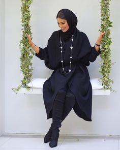 Modest Fashion Hijab, Casual Hijab Outfit, Hijab Chic, Abaya Fashion, Muslim Fashion, Fashion Outfits, Modest Outfits, Women's Fashion, Abaya Mode