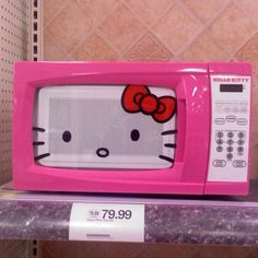 "i was told ""no"" on getting this:( sad day... same with the hello kitty toaster"