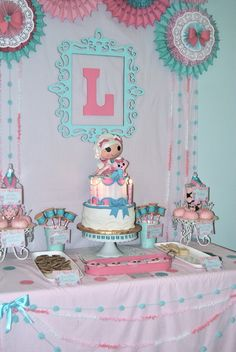 "Photo 4 of 35: Lalaloopsy Party / Birthday ""Lolaloopsy Suzetta La Sweet Tea Party"" 