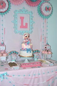 """Photo 4 of 35: Lalaloopsy Party / Birthday """"Lolaloopsy Suzetta La Sweet Tea Party""""   Catch My Party"""