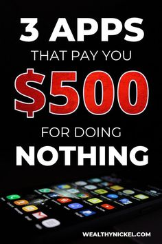 3 of my favorite apps that make money in 2019 500 per year This is the easiest side hustle I do for passive income while sitting on the couch in my PJs Make extra money. Ways To Earn Money, Earn Money From Home, Make Money Fast, Way To Make Money, Free Money, Free Cash, Online Earning, Earn Money Online, Online Income