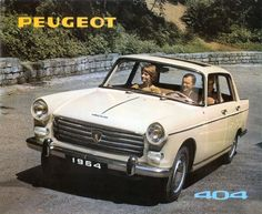 1964 Peugeot 404 sales brochure please visit also:...