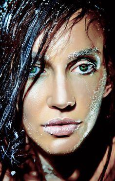Photographer Hussain Jian  Model Iyrna Bowman from Life Model  Make-up Artist: Yasmin Asady  Styling: Mina Asgary & Armita Kiani