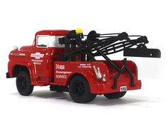 1958 tow truck | Scale Model Cars, Diecast Model Cars, Car Scale Models in ...