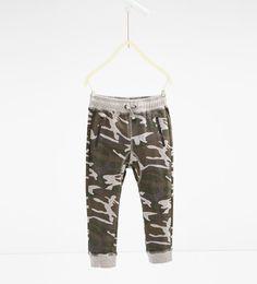 ZARA - KIDS - Camouflage trousers