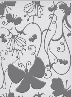 "Couture Creations - Embossing Folder (5""x7"") - Fine Designs Collecion - I Dream,$9.99"