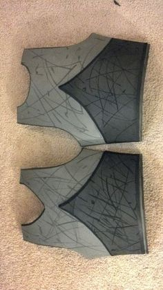 How to work with EVA foam for armor