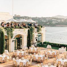 Photo by Hostal de La Gavina - Weddings in Hostal de La Gavina S'Agaró 5 GL with @mariafortgarcia, and @laclaueventsweddings. Image may contain: sky and outdoor    #Regram via @CCpAt0Bjm7U Beautiful Wedding Venues, Unique Weddings, Got Married