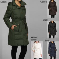 @Overstock - Filled with soft, fluffy down for ultimate warmth, this women's Tommy Hilfiger coat has a removable hood and knit cuffs. Water resistant and featuring plenty of pockets, this warm winter coat will keep you cozy even in freezing weather.http://www.overstock.com/Clothing-Shoes/Tommy-Hilfiger-Womens-Down-Filled-Jacket/5230221/product.html?CID=214117 $81.99