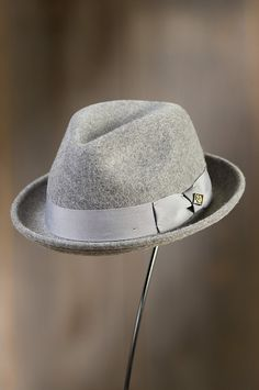 The Rude Boy Fedora commands respect in a classic style brimming with attitude, from the pinched crown to its turned up brim. Mens Dress Hats, Pork Pie Hat, Hats For Men, Hat Men, Rude Boy, Love Hat, Hats Online, Cool Hats, Fedora Hat